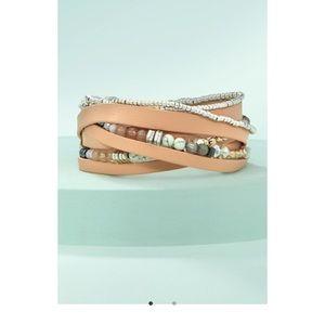 NWT Stella & dot wrap bracelet